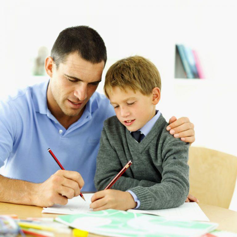 Картинки отец с сыном школьником