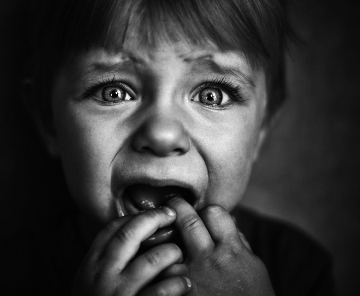 Ребенок в страхе