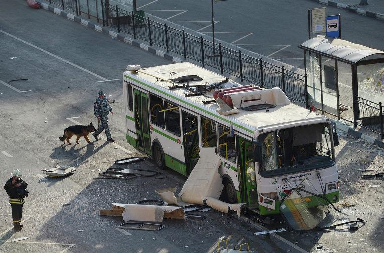 Теракт в общественном транспорте