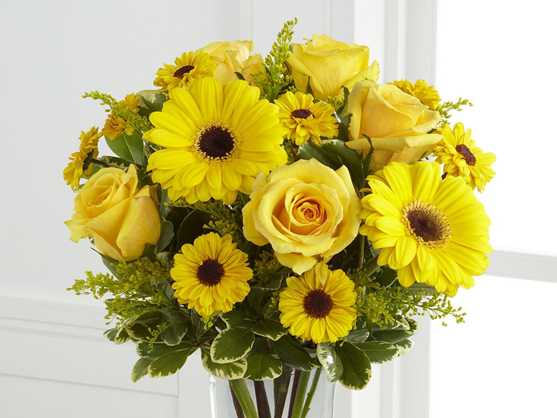 Желтые цветы – символ молодой любви