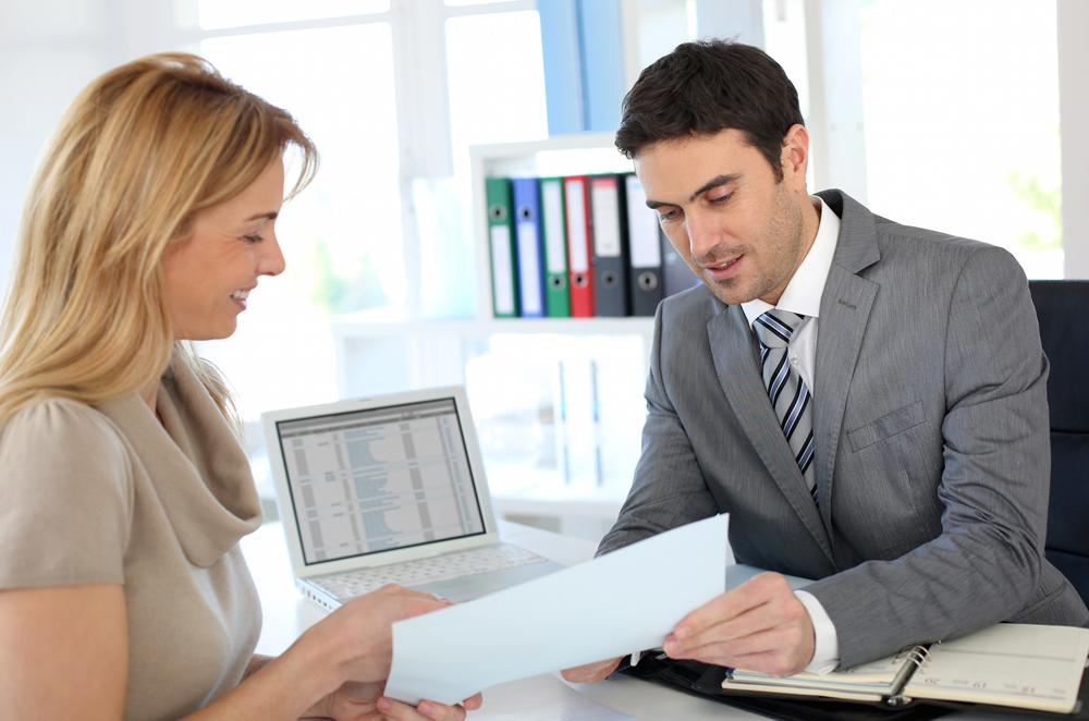 Беседа менеджера с клиентом