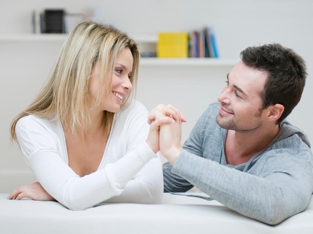 Мужчина и женщина уважают друг друга
