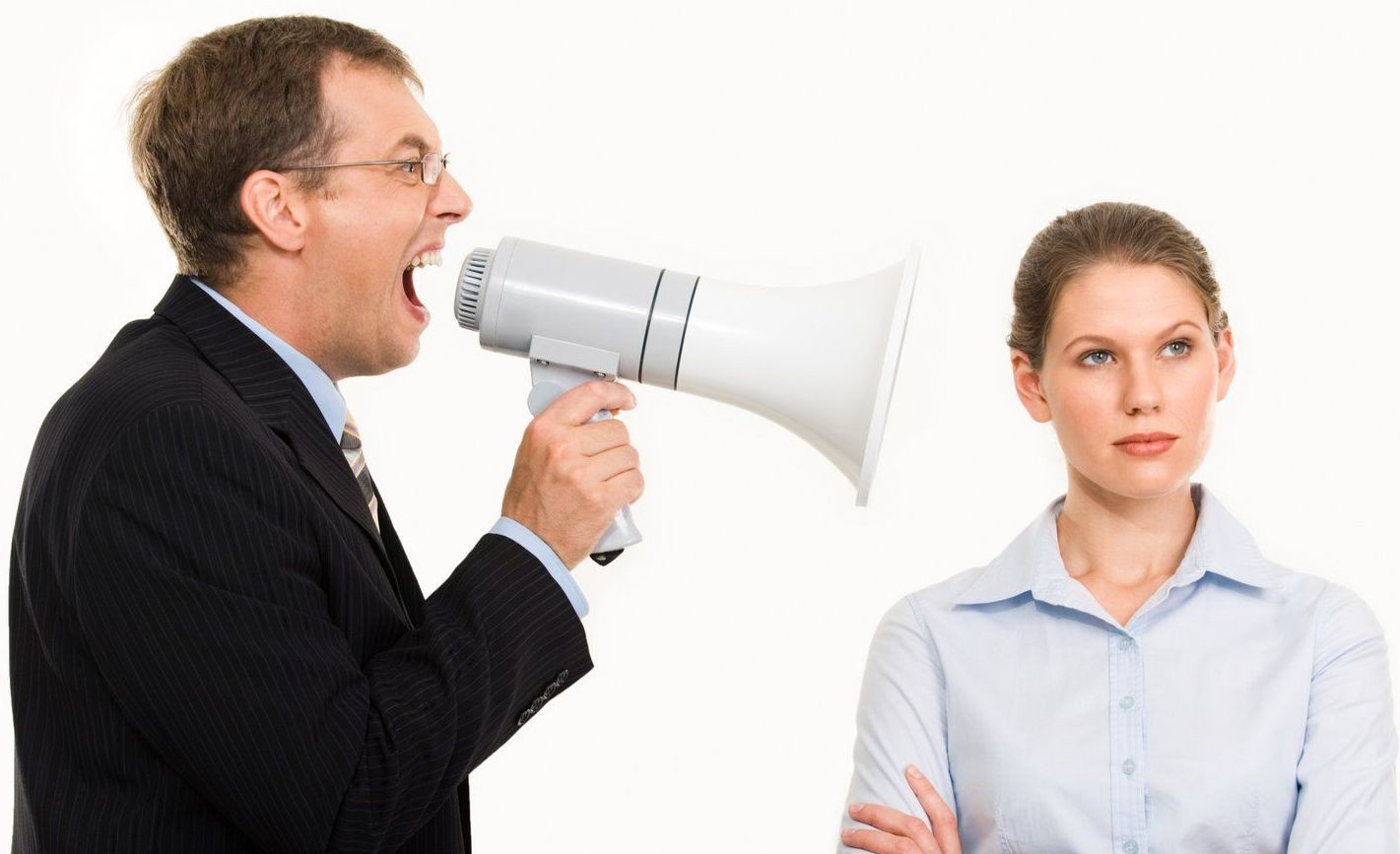 Умение противостоять конфликтам с начальником
