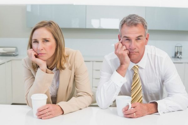 Развод после 10 лет брака пережить легко