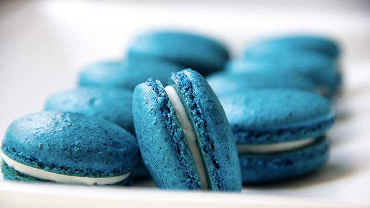 Синие пирожные
