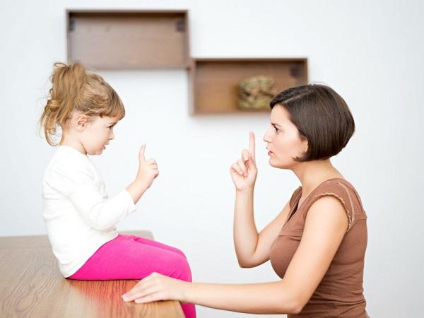 Родителям не нужно поддаваться на детские провокации