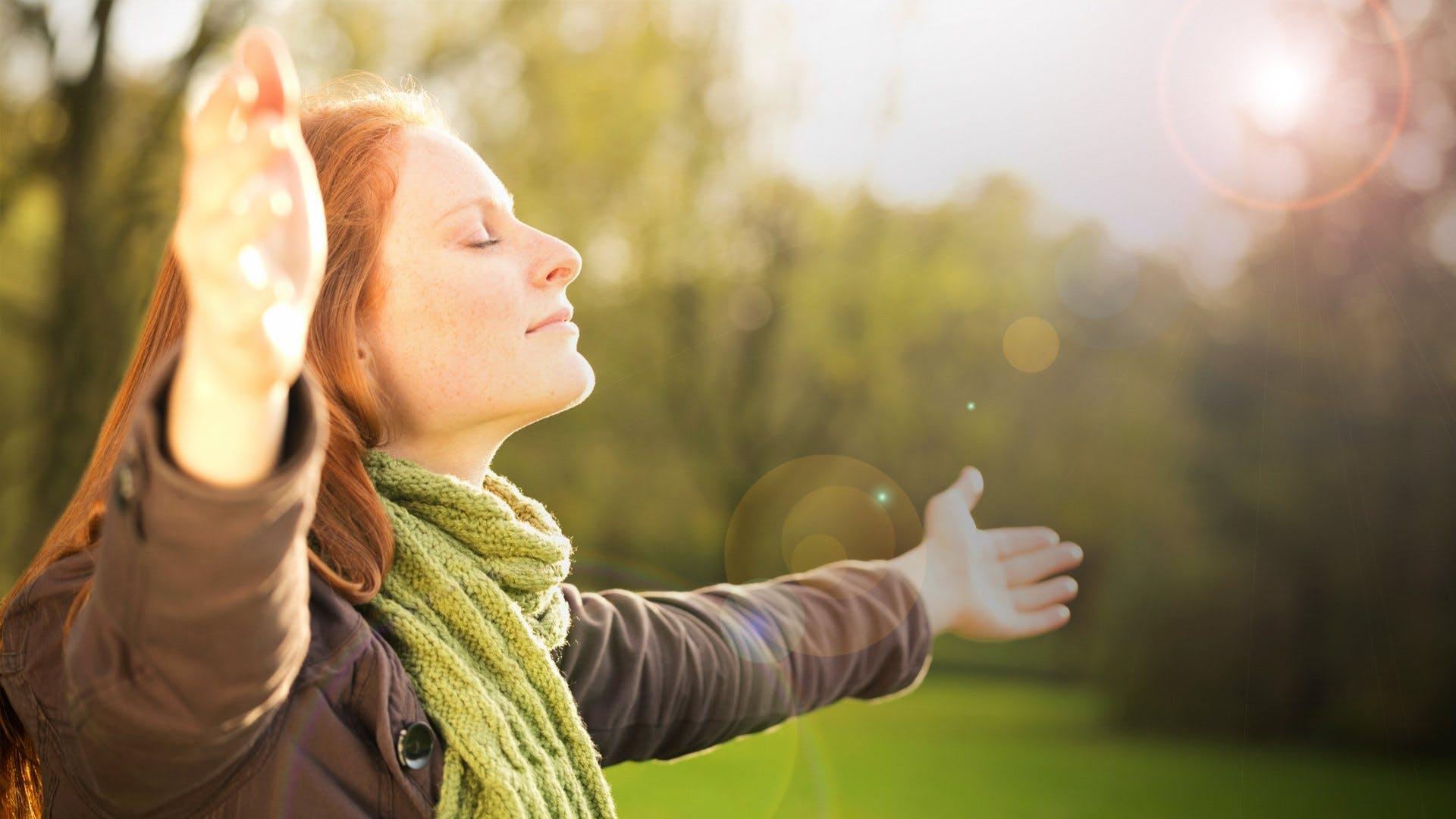 Прогулки в солнечную погоду повышают стрессоустойчивость