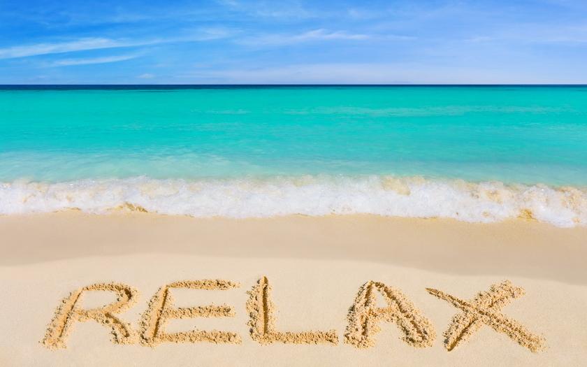 Идеальным вариантом для релаксации считается образ с преобладанием синих и зеленых цветов