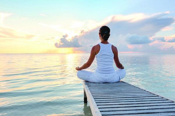 Медитация поможет расслабиться
