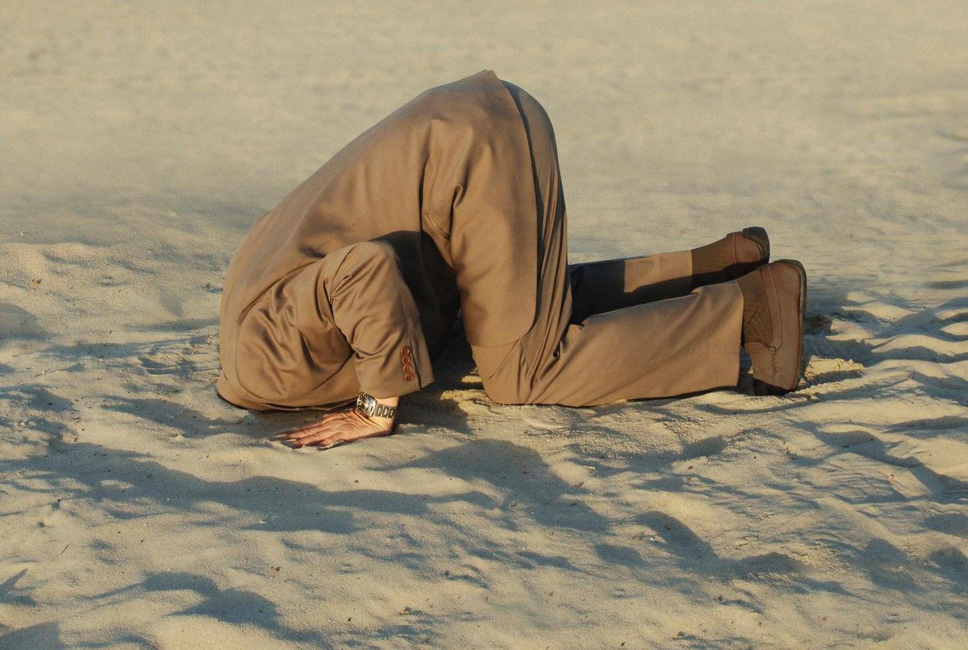 Голова в песок