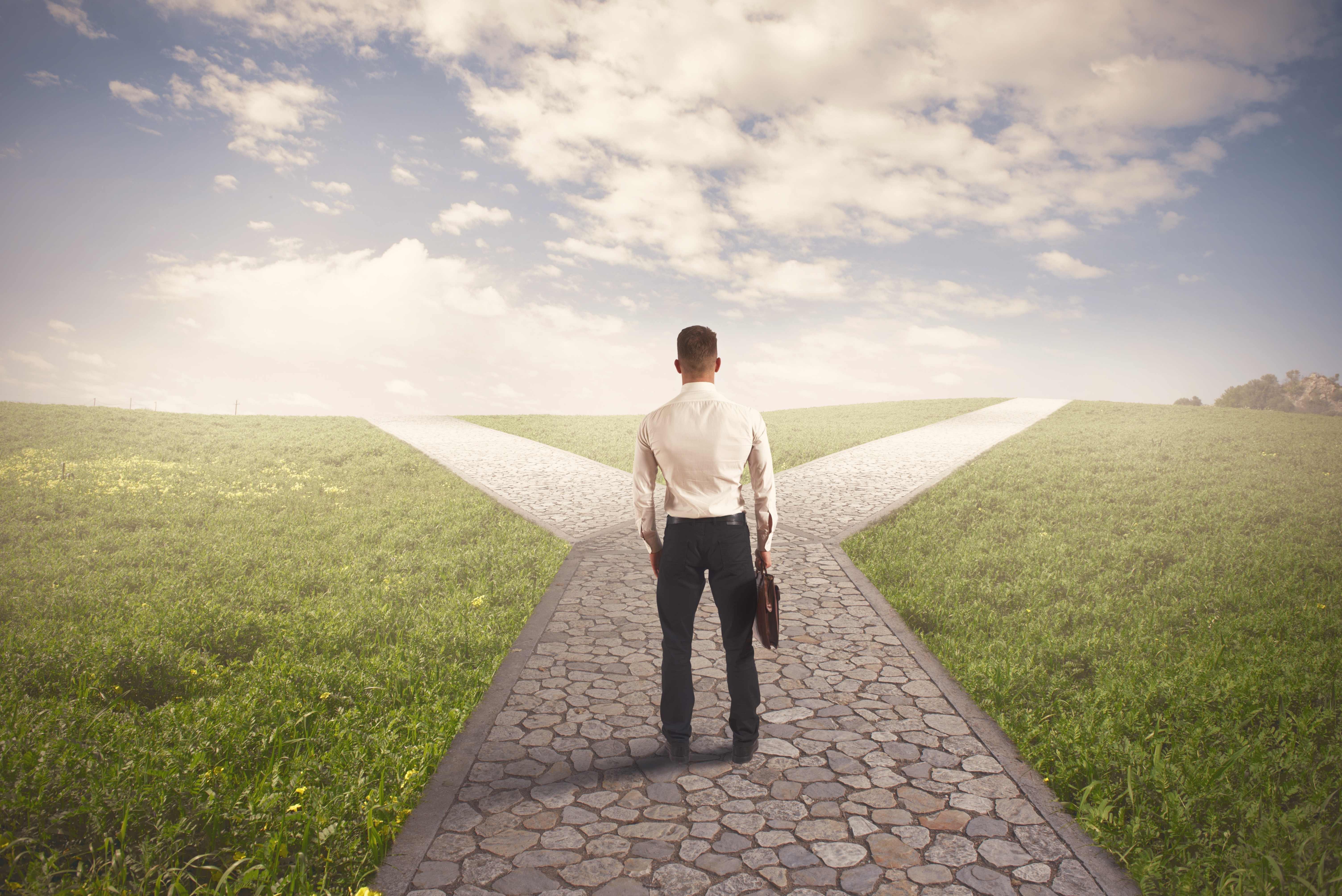 Выбор цели, к которой идти, – первый шаг