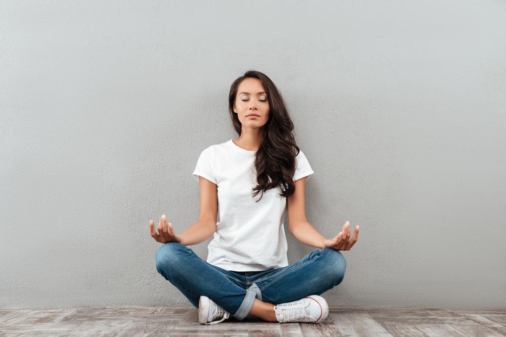 Медитируя, человек приобретает способность справляться со стрессом