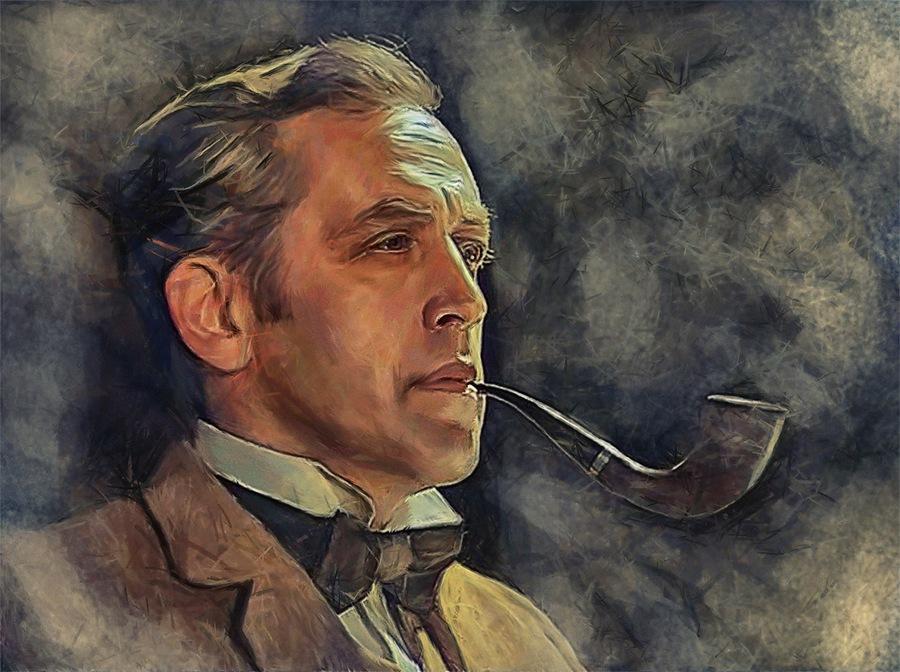 Шерлок Холмс в исполнении актера Василия Ливанова