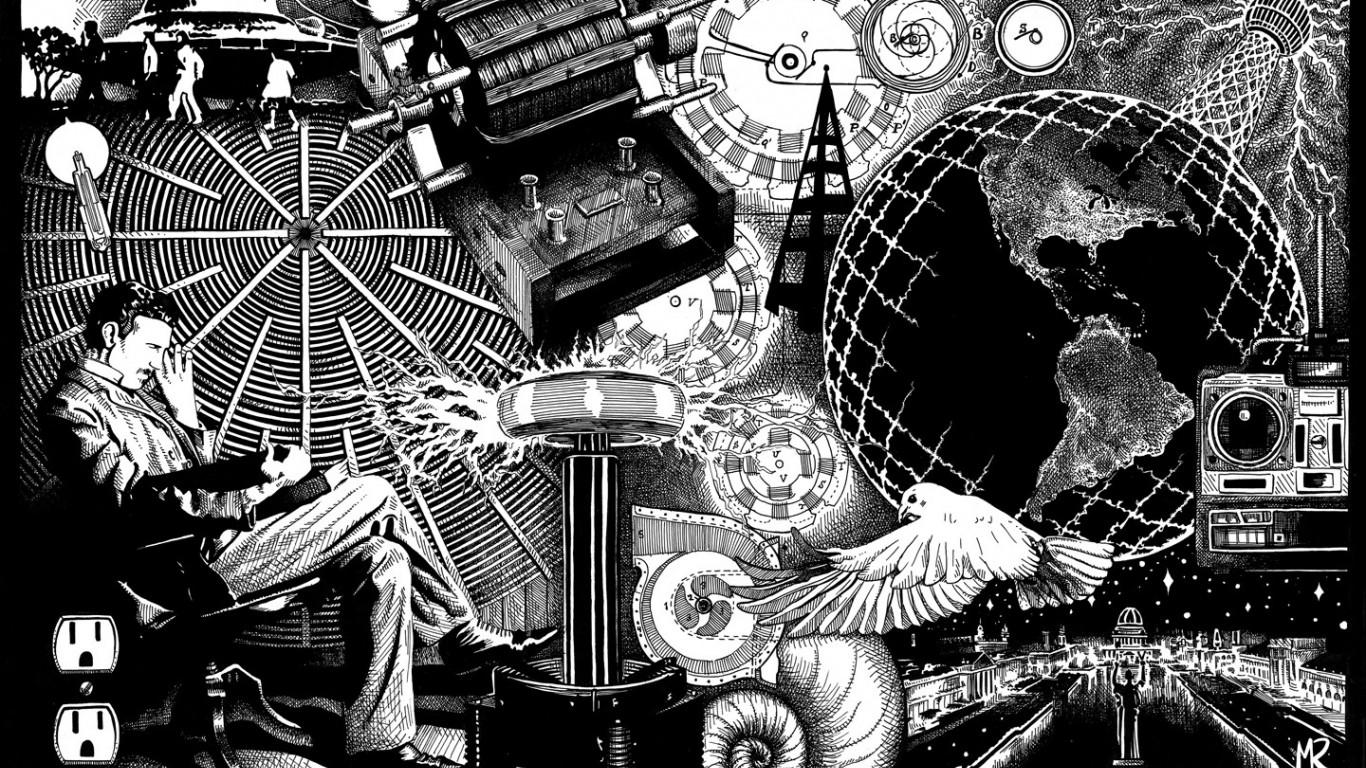 Никола Тесла и его память