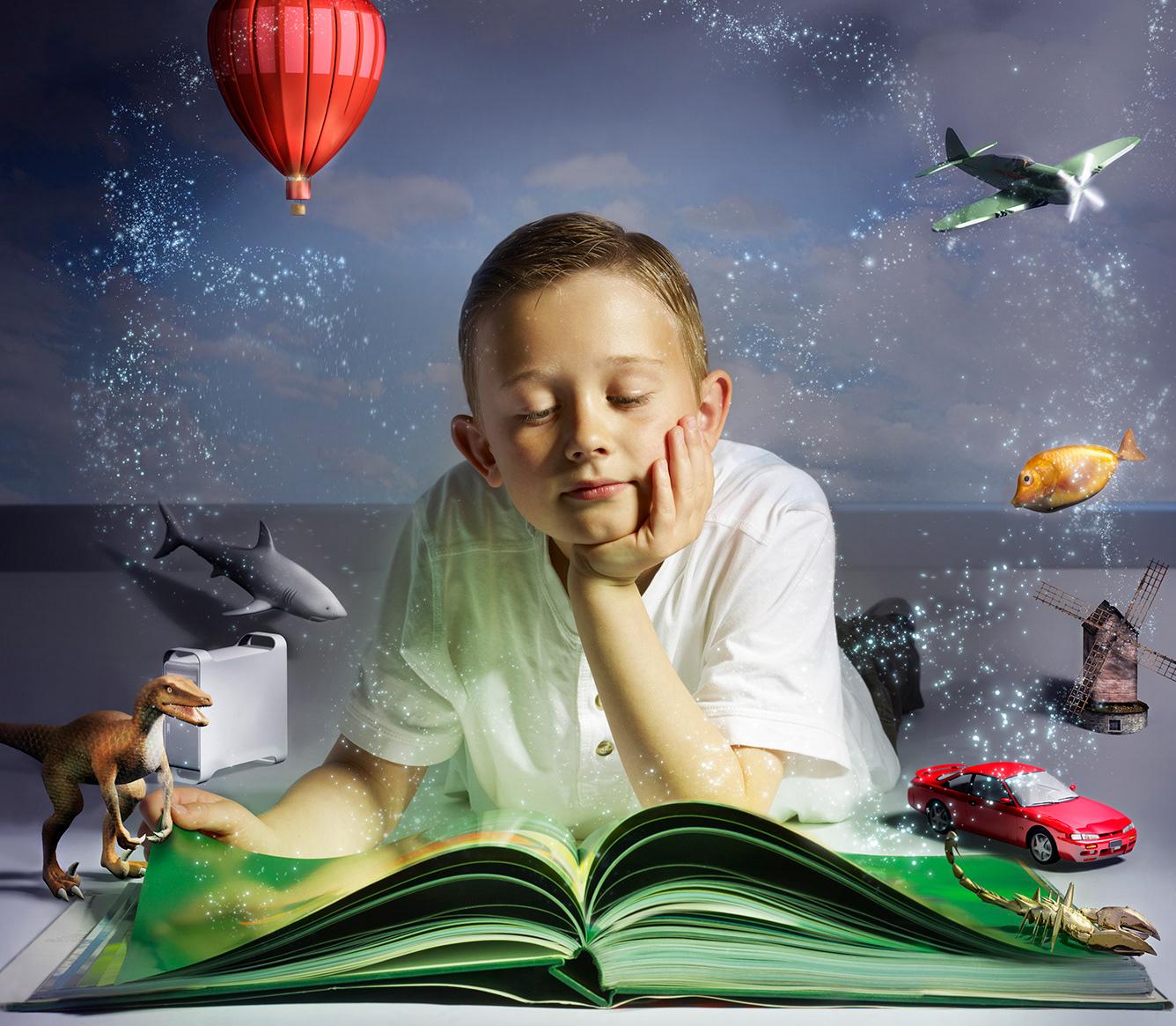 Человеку необходимо найти время и возможности для работы над улучшением своего воображения
