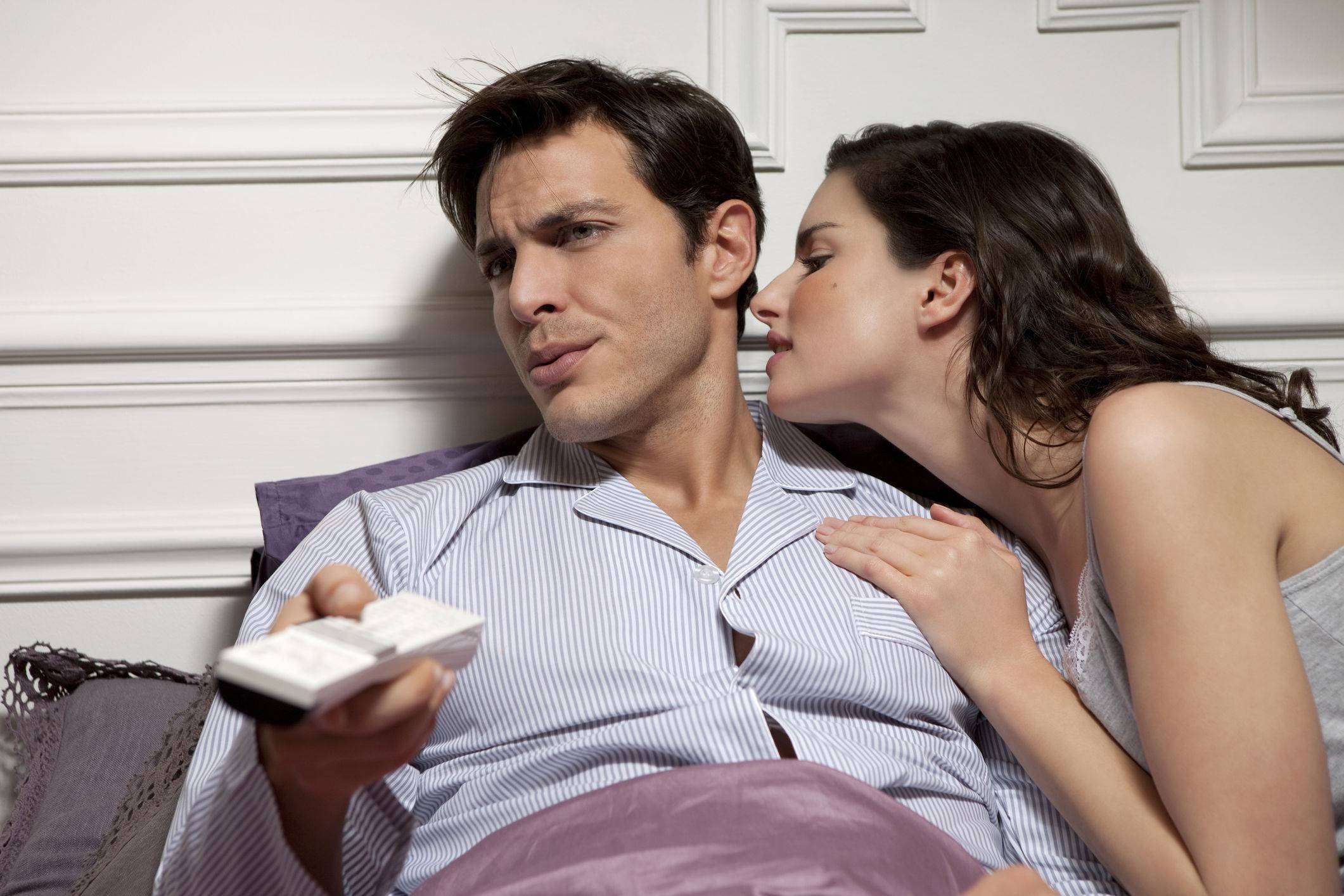 Мужчина не хочет общаться с женщиной
