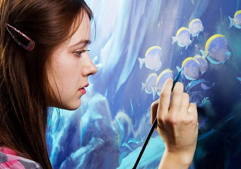 Рисование и творчество помогают бороться с опасными заболеваниями