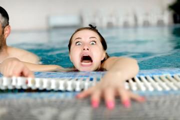 Сильнейший страх при погружении в воду