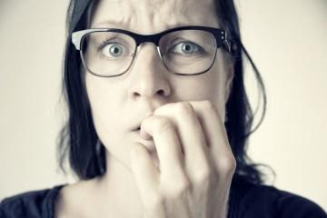 Тревожная женщина