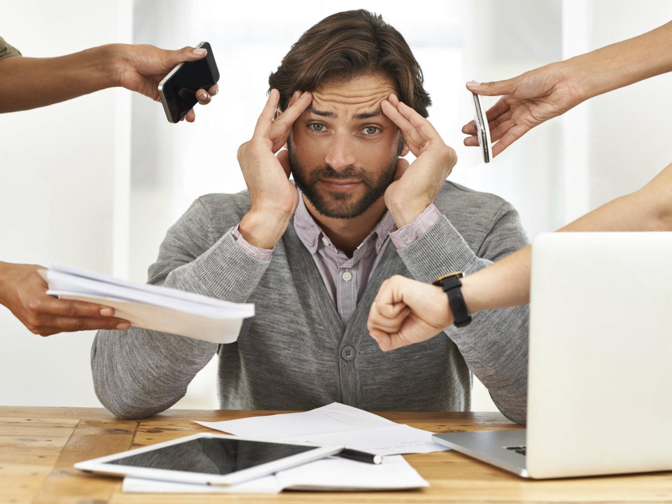 Отсутствие желания общаться, заниматься любимым делом, жить – признак хронического стресса
