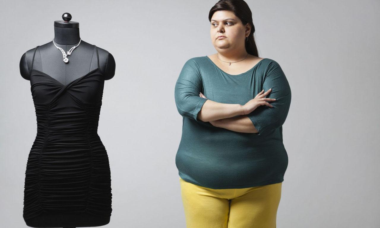 Цель полной женщины – похудеть