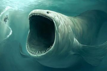Не всегда тревога связана с опасением утонуть, иногда человеку кажется, что в толще воды скрываются чудовища
