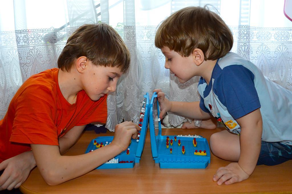 Обучающие игры способствуют развитию сосредоточенности и концентрации внимания