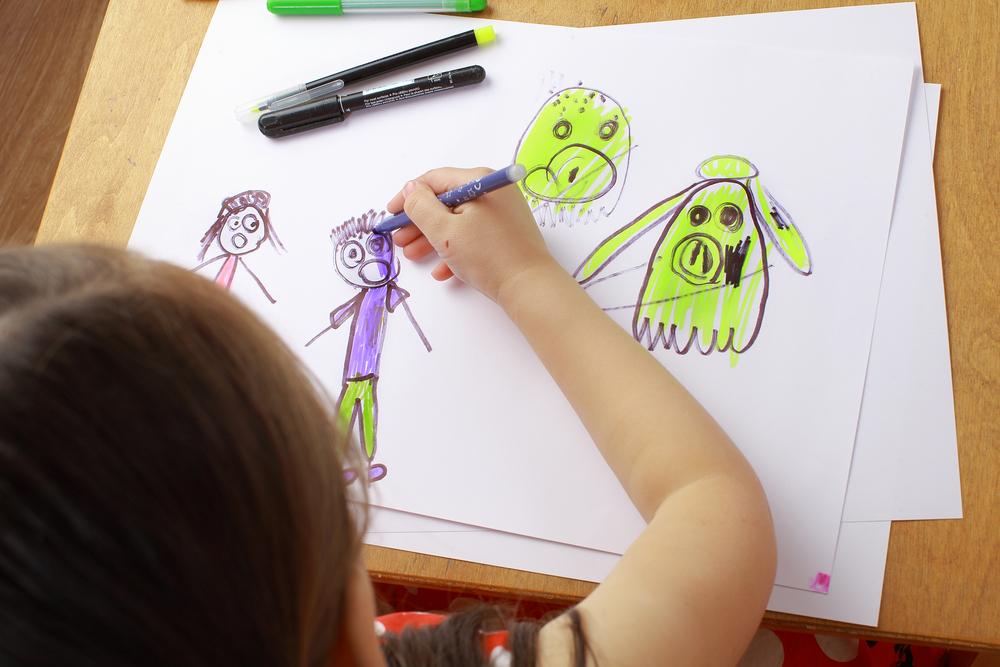 Рисование страха – важный коррекционный прием борьбы с ним