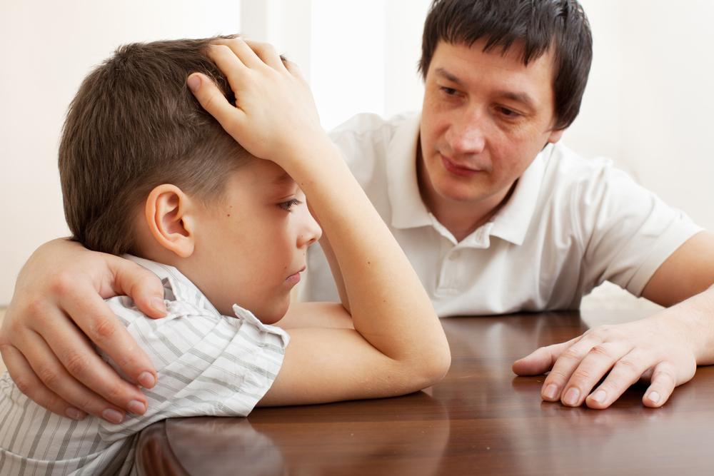 Взрослый должен поддержать ребенка при избавлении от страха