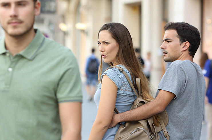 Какой процент женщин изменяет своим мужьям