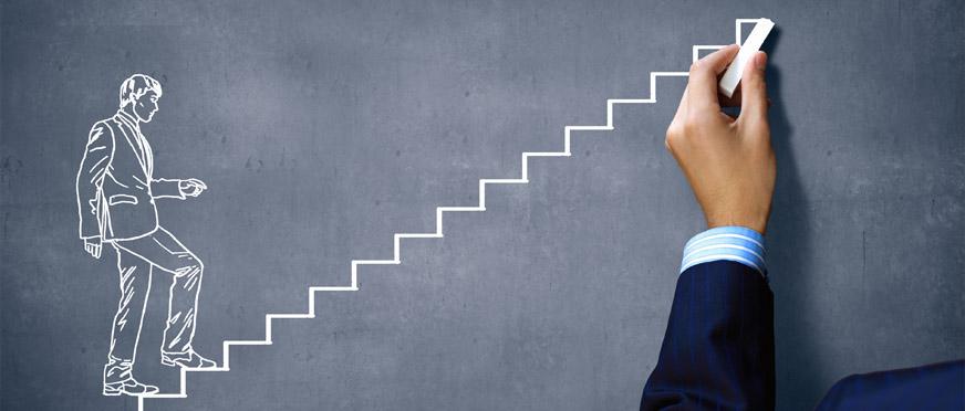 Личностный рост очень часто изображают, как подъем вверх по ступенькам