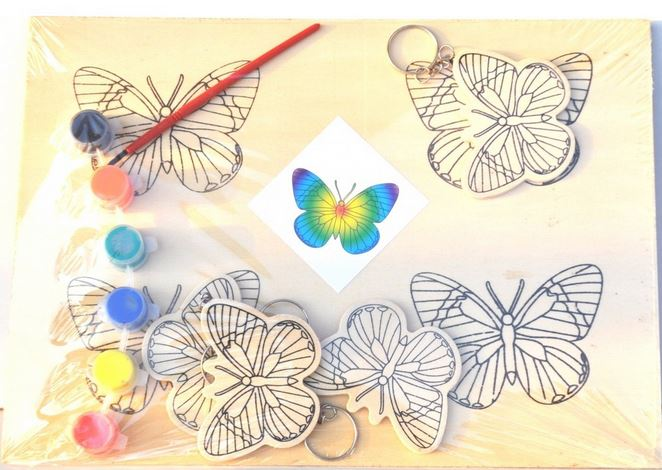 В самолечении фобии поможет раскраска с изображением бабочек