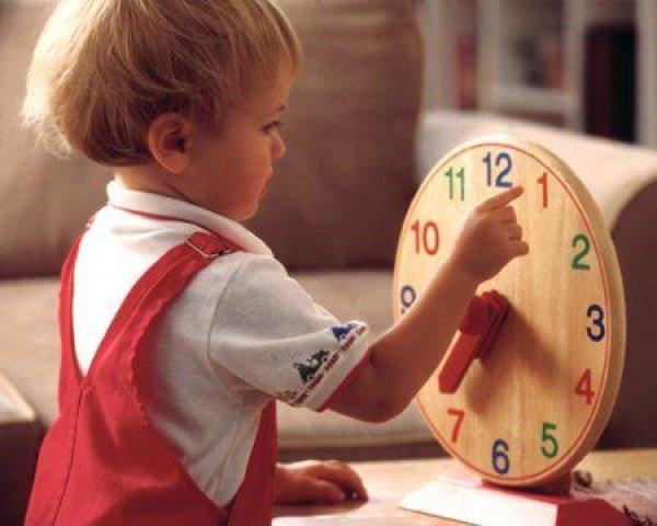 Восприятие времени детьми
