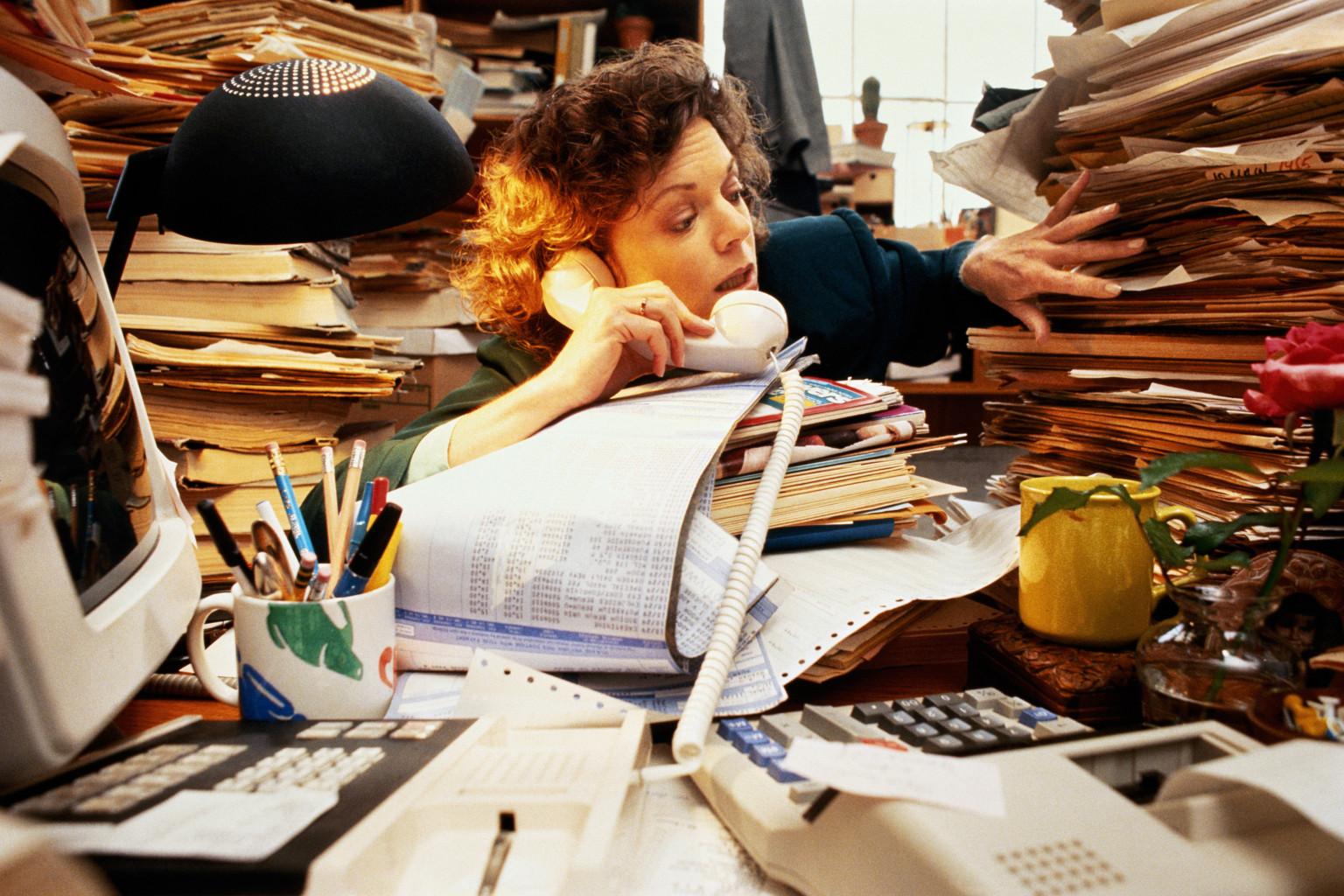 Эргофобию может вызывать неумение отдыхать, стремление заполнять работой все свободное время