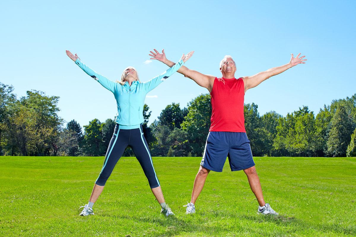 Здоровый образ жизни помогает держать организм в тонусе