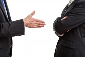 Отказ от рукопожатия