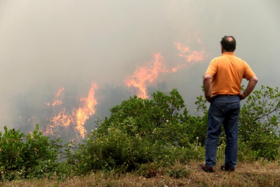 Наблюдать за пожаром – цель пиромана