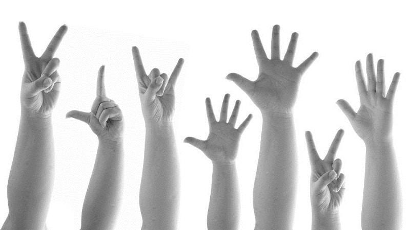 Общепринятые «знаки тела»