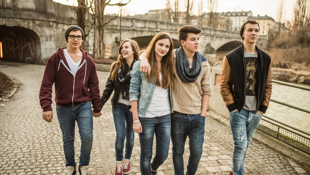 Подростковая компания