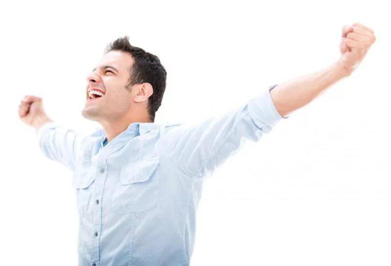 Довольный жизнью оптимист