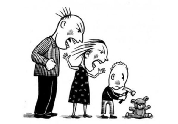 Жертва семейного насилия