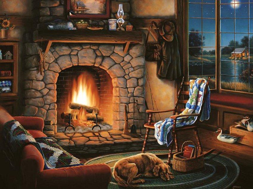 Вечерние часы, горячий напиток и уединение создают идеальные условия для расслабления и визуализации