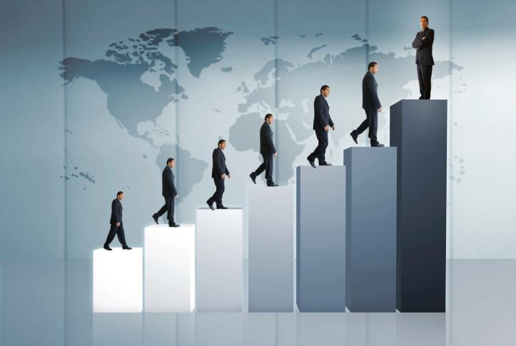 Поднятие по карьерной лестнице