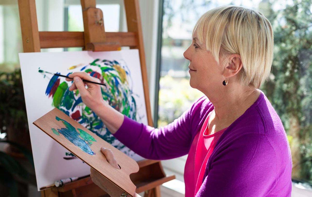 Развитие творчества у взрослых