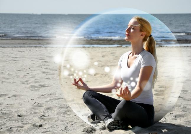 Медитация – прекрасное средство для полного расслабления и снятия напряжения