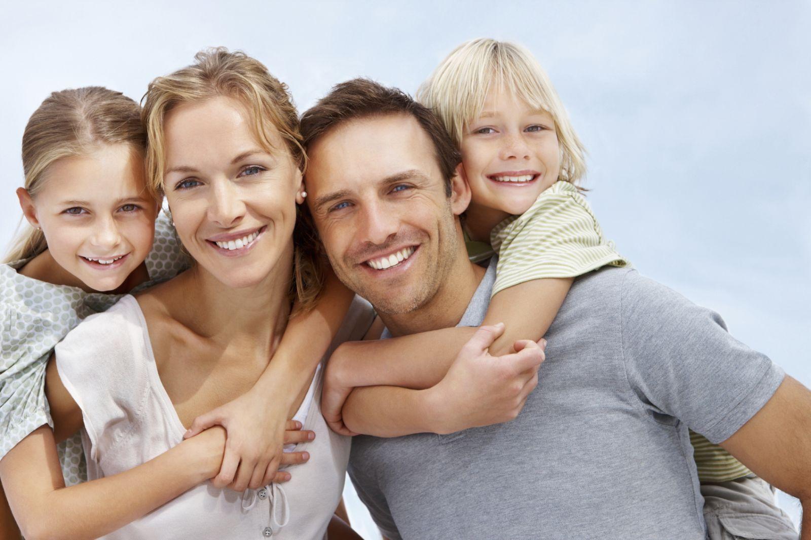 Идеальный вариант семейных отношений