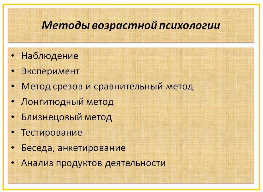 Методы ВП