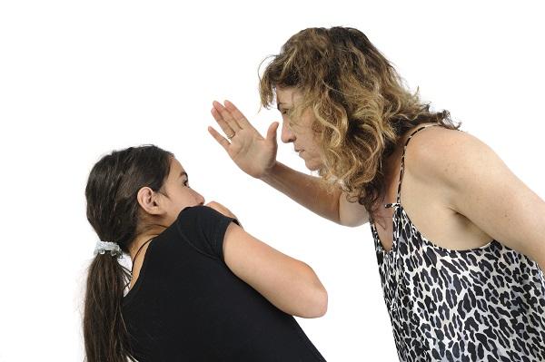 Агрессивная модель поведения родителей