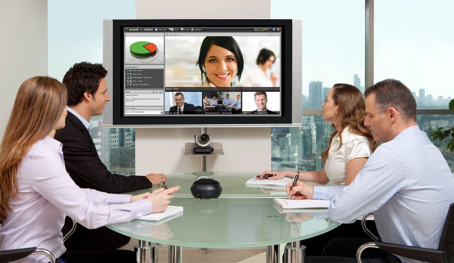 Интерактивное общение в офисе