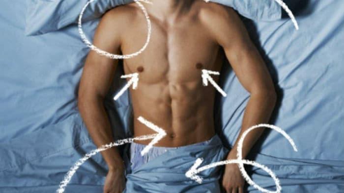 Эрогенные зоны мужчины